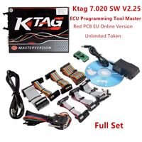 Latest Ktag 7.020 SW V2.25 ECU Programming Tool Master No Tokens Limited Red PCB