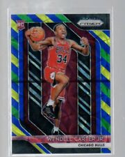 Wendell Carter Jr. 2018-19 Panini Prizm Rc Choice Blue Yellow and Green #80