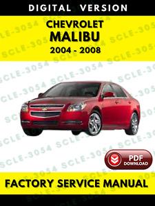 Repair Manuals Literature For 2005 Chevrolet Malibu For Sale Ebay