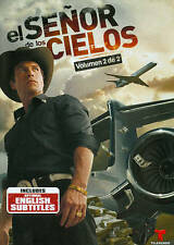 W@W! RARE!! NEW IN PACKAGE!! EL SENOR DE LOS CIELOS 1ERA PARTE - 7 DVD Set