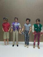 Mattel Barbie Ken Doll, Articulated Fashionista , Rooted Blonde Hair Blue Eyes
