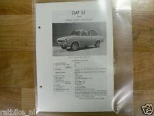 DA7-DAF  55  COACH, COUPE, STATIONCAR 1968 -NFO