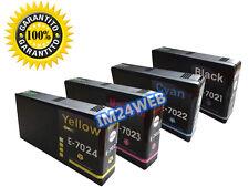 IM KIT 4 CARTUCCE  PER EPSON T7021 T7022 T7023 T7024 WP-4545 WP-4535 WP-4025
