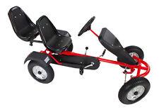 TecTake 400771 2-Sitzer Go-Kart - Rot