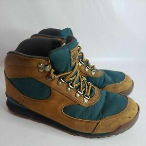 "Danner Men's Jag Distressed Brown/ Deep Teal 4.5"" Hiking Boot Size 9 GUC"