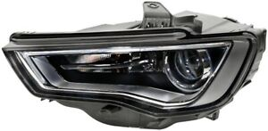 HELLA Headlight Passenger Side 1LL 010 740-331 fits Audi S3 2.0 Quattro (8V) ...