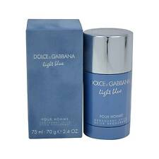 Light Blue Pour Homme 75ml Deodorant Stick Men by Dolce and Gabbana