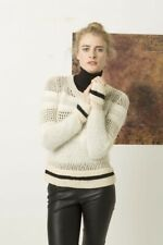 Lang Yarns Nova / Mohair Luxe / Alice Knitting Pattern Pullover As Download Desi