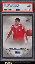 2013 SP Authentic Giannis Antetokounmpo ROOKIE RC #36 PSA 9 MINT