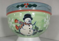 Holiday Snowman Bowl, by WCL