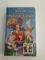 Return to Never Land (VHS, 2002)