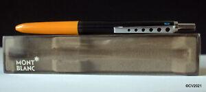 Originaler MONTBLANC 570 Carrera, 4 Farbkugelschreiber, ~ melonengelb/schwarz
