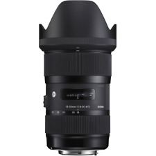 A - Sigma 18-35mm F1.8 DC HSM Lens: NIKON Fit