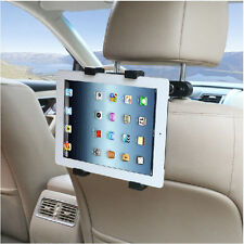 Rotatable Headrest Mount / in-Car Holder Cradle for iPad Samsung back-of-seat