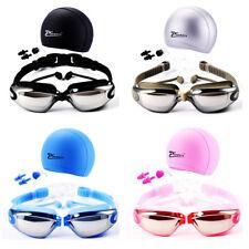Waterproof Swimming Glasses Goggles Mariner Anti Fog Misting Nose Clip Ear Plug
