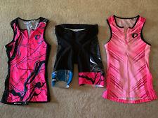 Pearl Izumi Women's Triathlon: Set of 2 Tanks (size Xs) & 1 Tri Shorts (size S)