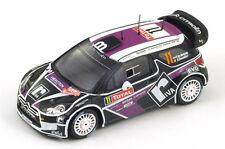 SPARK Citroen DS3 No.11 WRC Rally Monte Carlo 2012 P. van Merksteijn  S3329 1/43