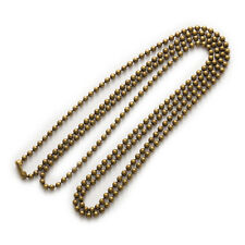 5 Strand Alloy Ball Beads Chain Necklace Jewelry Making Connector Findings  70cm