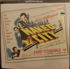 NAKED CITY Barry Fitzgerald Roan Group Collectors Edition Laserdisc SEALED fr/sh