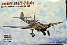 Junkers Ju 87D-3 Stuka - Hobby Boss Kit 1:72 80286