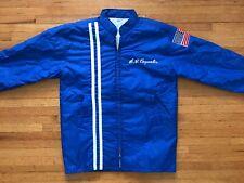 Vintage U.S. Coast Guard Rally Jacket Men Sz M Rear Admiral A.J. Carpenter Uscg