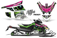 Snowmobile Graphics Kit Sled Decal Wrap For Arctic Cat Z1 Turbo 06-12 FRENZY GRN