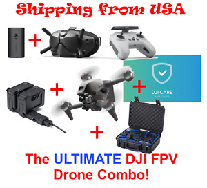 DJI FPV Drone - ULTIMATE Fly More Combo