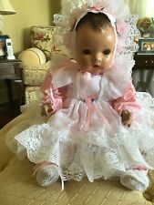 """Vintage 1940s Horseman Enchanting Eyes Composition and Cloth Doll 21"""""""