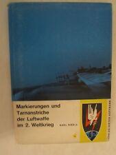 Markierungen Und Taranstriche Der Luftwaffe Im 2 Weltkrieg Band I