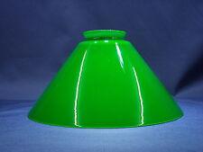 Ersatzglas Lampenschirm Glasschirm Schusterschirm grün Ø 200mm Kragenrand Ø 55mm