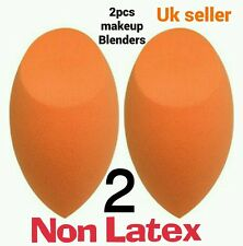 2×- Professional Smooth Makeup Blender Sponge Foundation Puff Flawless Beauty UK