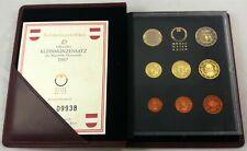 Oostenrijk, Officiële PROOF Euro muntenset 2007 in originele verpakking(MT25)