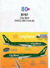 Decal - B767 - City Bird - DACO SKY144-50 - (Ref. DC80)