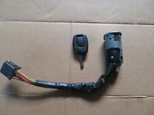 Renault Clio Ignition barrel and key switch 2001-2005 tested