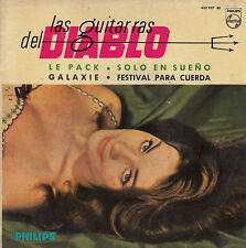 45TRS VINYL 7'' / RARE SPANISH EP LES GUITARES DU DIABLE / GALAXIE + 3