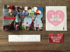 Coachella Weekend One GA Wristband + Car Camping Pass + Shuttle Pass