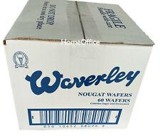 Box Of 60 Waverley Nougat Wafers Ice Cream Sandwich