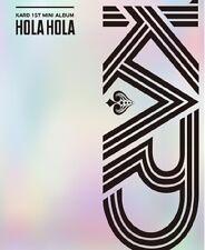 K-POP KARD 1st Mini Album - [Hola Hola] CD + 80p Booklet + 2p Photocard Sealed