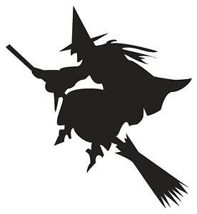 Witches Halloween Cauldron Magic Spells Broom Vinyl Decal Stickers sma SM715