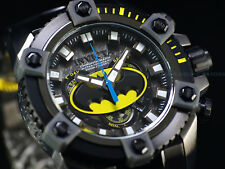 New Invicta DC Comics Batman Grand 63mm Arsenal Ltd Ed. Swiss Chrono GMIP Watch