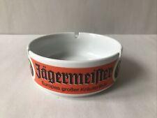"More details for jagermeister ashtray round ceramic advertising 5"" bockling germany bar mancave"