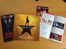 More details for hamilton , original london cast programme,