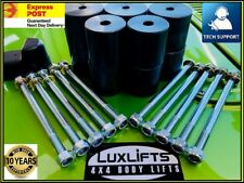 "PAJERO BODY LIFT KIT  1"" INCH (25MM) - SERIES 1 & 2  1982 TO 1999 4X4 LUXLIFTS"