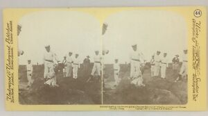 Execution Beheading Chopping Head Off Of Prisoner Stereoview REPRINT