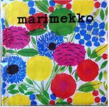 Marimekko floral paper napkins, 24x24cm, 20 pcs, Finland