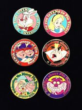Disney Disneyland DLR 2010 Hidden Mickey Alice In Wonderland Pin Complete Set