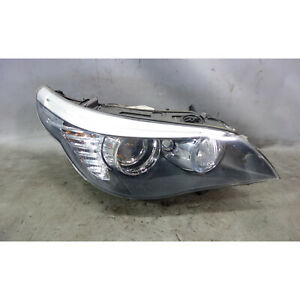 2008-2010 BMW E60 E61 5-Series Right Passenger Xenon Adaptive Headlight Lamp OEM