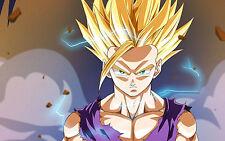 Poster A3 Dragon Ball Gohan Super Saiyan 01
