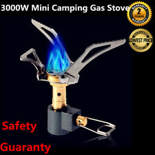 3000W Mini Outdoor Cooking Burner Folding Camping Gas Stove For BRS-3000T NEW