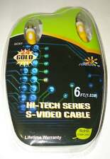 HI-TECH SERIES S-VIDEO CABLE, 6ft (1.83m),new in original pack, China, excellent